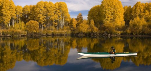 kayakiste seul