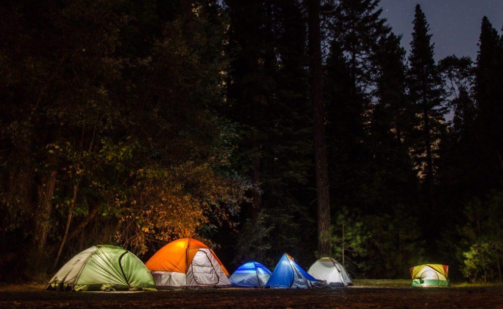 campement de tentes